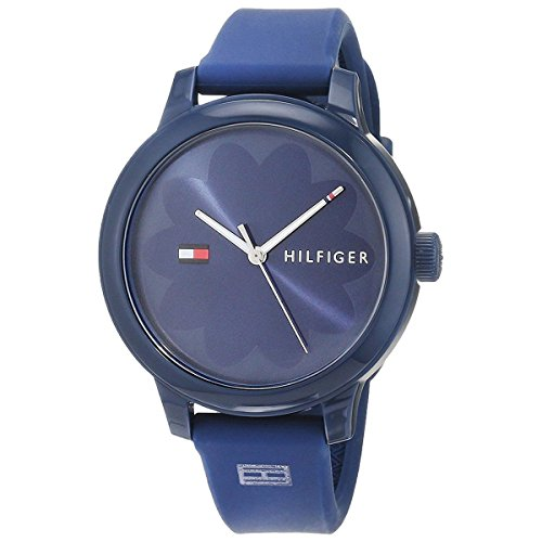 Tommy Hilfiger Women's 'Everyday Sport' Quartz Resin and Silicone Casual Watch, Color Blue (Model: 1781775)