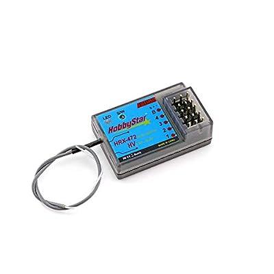 HobbyStar HRX-472 Sanwa FH3, FH4 Compatible 4ch Receiver, FHSS: Toys & Games