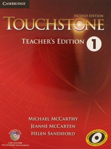 Touchstone Level 1 Teacher's Edition with Assessment Audio CD/CD-ROM (Level 1 Teachers Book)