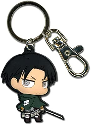Great Eastern Entertainment Attack On Titan SD Levi PVC Keychain