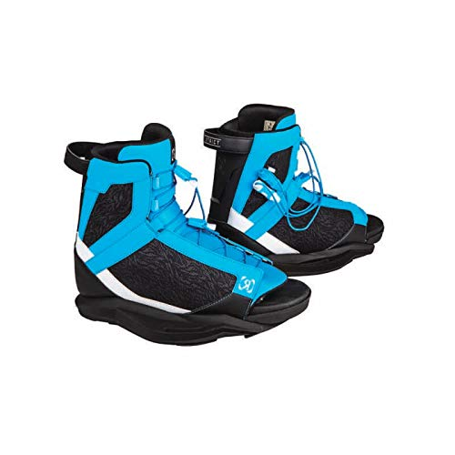 Ronix Wakeboard Bindings District Boot - Blue/White/Black - 7.5-11.5 (2019)