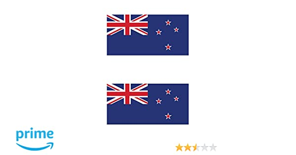 Two Pack New Zealand Flag Sticker FA Graphix Decal Self Adhesive Vinyl kiwi fagraphix 521CFBFA-2-FA8064