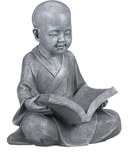 Used, Design Toscano Baby Buddha Studying The Five Precepts for sale  Delivered anywhere in USA