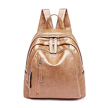 0328d6558208 Amazon.com: Newly Launched Vintage PU/Faux/Vegan Leather Backpack ...
