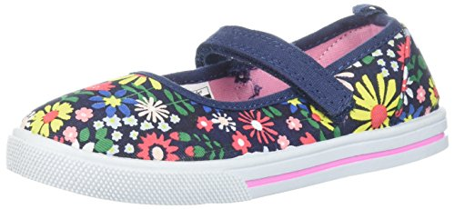 Carter's Dubbo Girl's Casual Mary Jane Flat, Navy, 10 M US Toddler ()