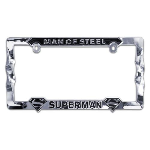 ELEKTROPLATE Superman 3D All-Metal License Plate Frame (SUPER-LPF)