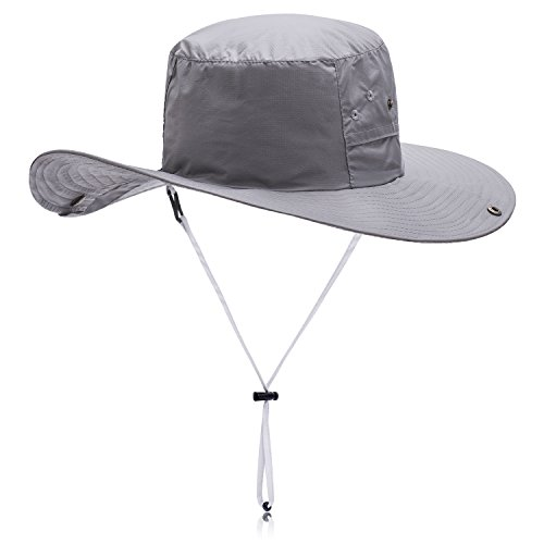 Sun hat,Exwell Daily Waterproof Mess Cowboy hats,Fishing hat,Women/Men hats for Fishing,Farming,Hiking,Camping,Boating and Gardening