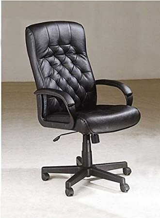 Amazoncom Classic Leather Executive CEO Office Swivel Chair in