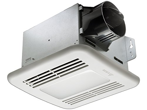 Exhaust Fan Light Combo - Delta BreezGreenBuilder GBR100LED 100 CFM Exhaust Bath Fan with LED Light