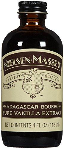 Nielsen-Massey Vanilla Madagascar Vanilla Extract, 4 oz (Vanilla Extract Pure Organic)