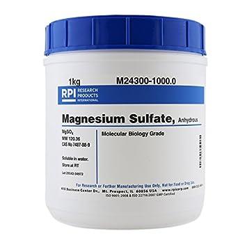 Magnesium Sulfate Anhydrous, 1 Kilogram