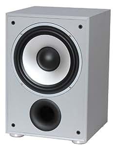 LTC SW100 - Subwoofer (Activo, Corriente alterna, 30 - 150 Hz, Plata)