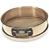 """Cole-Parmer Testing Sieve, 8"""" OD Brass Frame/Brass Wire, Full height, No. 60"""