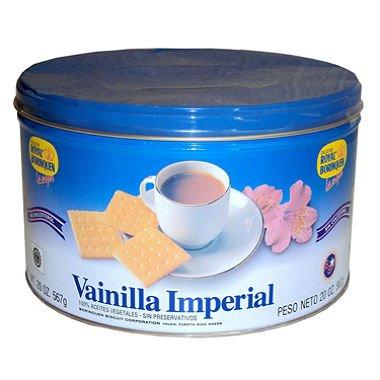 Vainilla Imperial Cookies By Royal Borinquen 20 oz