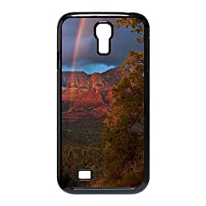 DIY Rainbow Phone Case Fit To Samsung Galaxy S4 I9500 , Good Choice For Your Phone