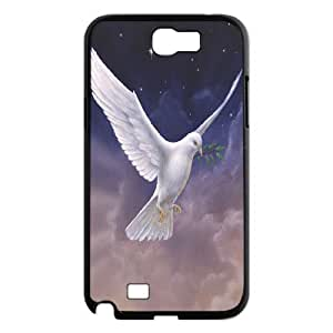White Dove Brand New Cover Case for Samsung Galaxy Note 2 N7100,diy case cover ygtg584293
