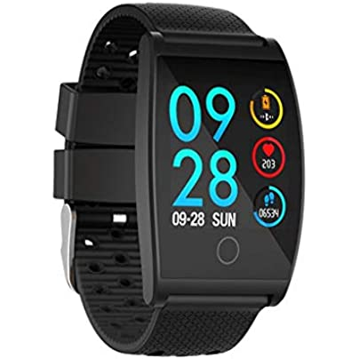 EGCLJ Sports Fitness Tracker Waterproof Heart Rate Blood Pressure Sleep Monitor Pedometer Wearable Wristband for Holiday Birthday Gifts Black Estimated Price -