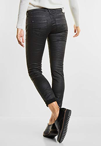 schwarz Print Jeans Black Street Denim One Donna Slim SwY0qC