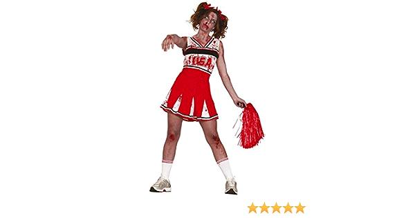 Halloween Effrayant Zombie Super Travail femme-Ladies Fancy Dress Party Costume Set