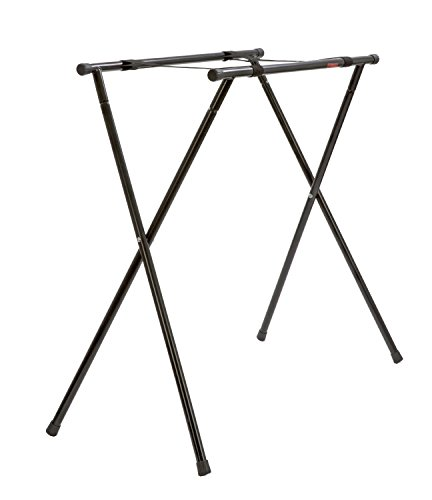 Peavey Escort Stand – Portable – Steel Construction – Useable With All Escort PA Systems – Matte Black Finish – Portable - Portable Matte