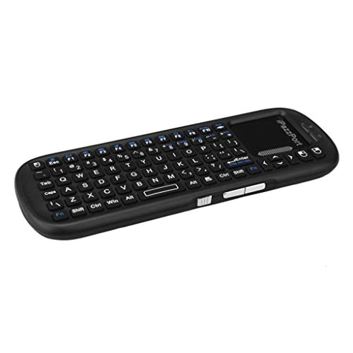 "The Original iPazzPort 2.4Ghz RF Mini Wireless Keyboard, uses AAA Batteries, No Backlight 6.5"" x 2.5"" (New 2018 Model)"