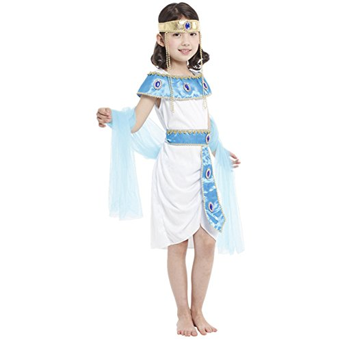 Dr.mama Children Performance Clothing Halloween Cosplay Costume( Egyptian Queen) (Egyptian Costumes For Children)