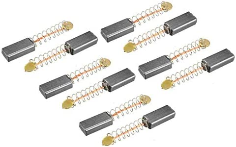 sourcingmap 10mm x 5mm x 5mm Motor Carbon Brushes 4 Pcs for Generic Electric Motor
