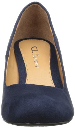 Suede Pump Wedge Women's Laundry Nima by Chinese CL Indigo Super gzqY7wW