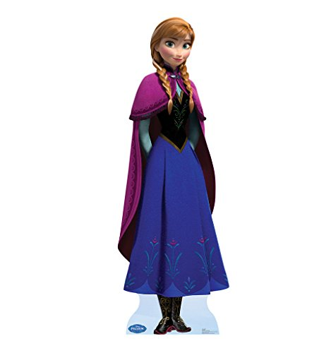 Anna - Disney's Frozen (2013 Film) - Advanced Graphics Life Size Cardboard Cutout (Halloween Costume Ideas For Sisters)