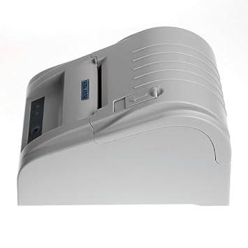 Excelvan ZJ - Impresora térmica de tickets y recibos (58mm, 90mm/s ...