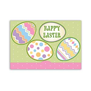 Jillson Roberts Gift Card Holders, Easter Eggs, 6-Count (GCP028)