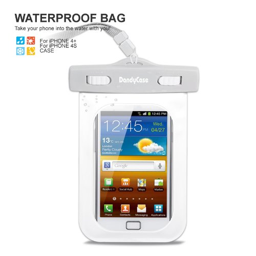 DandyCase Waterproof Case for Apple iPhone 4, 4S - Also Work