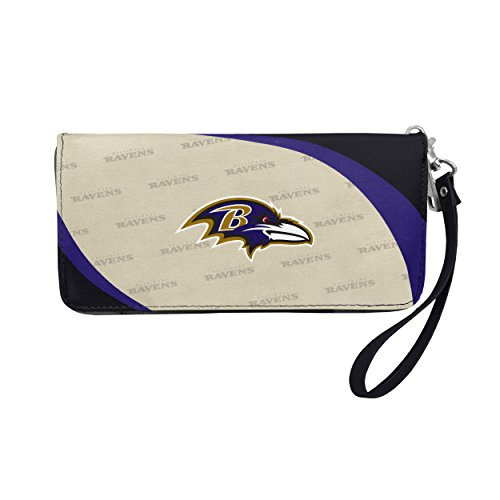 Little Earth NFL Baltimore Ravens Curve Zip Organizer -