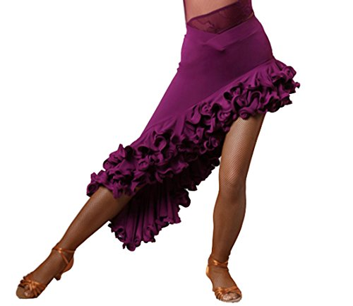 Latin Dress High-Grade Screw Skirt Tango Dress Cha Cha Dance Skirts Ballroom Skirt