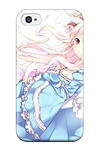 Premium UggCzzX4971jfQDJ Case With Scratch-resistant/ Original Anime Girl Case Cover For Iphone 4/4s