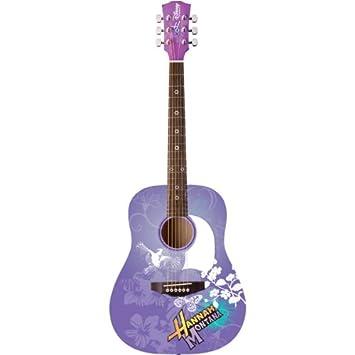 Amazon Com Disney Hannah Montana 3 4 Sized Acoustic Guitar Musical