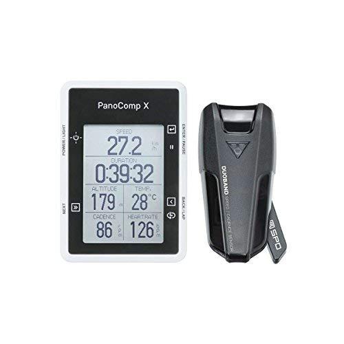 (Topeak PanoComp X Bluetooth Smart Wireless Cycling Computer w/Speed/Cadence - TPB-CSC02-B1)