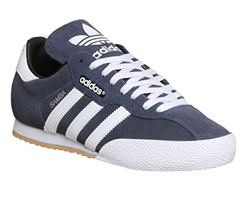 Adidas Samba Super Suède Trainers - Mens - Navy / Wit - Blauw