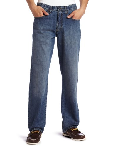 Lee Men's Big-Tall Premium Select Custom Fit Loose Straight Leg Jean, Drifter, 48W x 30L