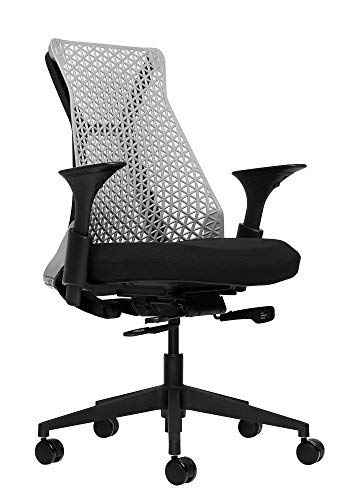 Bowery Fully Adjustable Management Office Chair (Grey/Black) ()