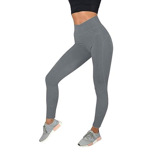 Apragaz Pantalones De Yoga De Leggings Largos para Mujer ...