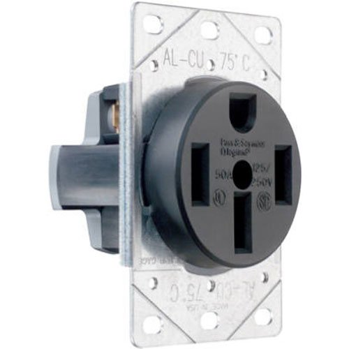 50 amp range receptacle - 8
