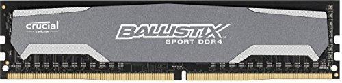 Crucial Ballistix Sport 8GB Single DDR4 2400 MT/s  CL16 DR x