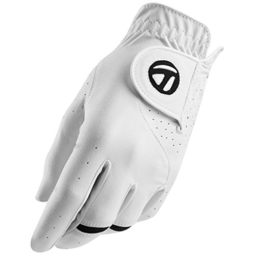 TaylorMade All Weather Cadet Glove (2 Pack), White, Large, Left Hand