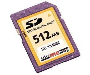 Extrememory Secure Digital (SD) 512MB de Alta Velocidad (66 ...