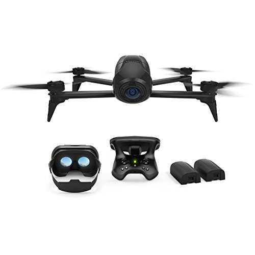 Parrot Bebop 2 Power FPV Pack - Film like a Pro with Smart Flights and up to 60 minutes of combined of flight time (Certified Refurbished)