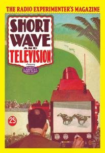 """Short Wave and Television: Televised Horse Racing printed on 12"""""""" x 18"""""""" stock."""