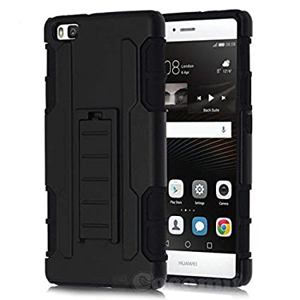 Cocomii Robot Armor Huawei P8 lite Case New [Heavy Duty] Premium Belt Clip Holster Kickstand Shockproof Hard Bumper [Military Defender] Full Body Dual ...
