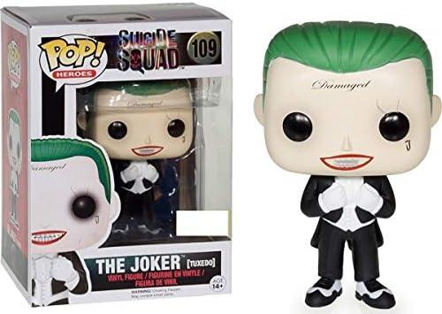 Funko Pop! Suicide Squad #109 The Joker (tuxedo) Exclusive by ...