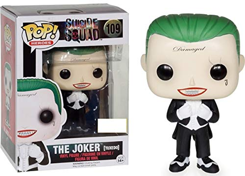 Funko Pop! Suicide Squad #109 The Joker (tuxedo) Exclusive by Fu